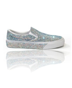 Crystal Couture Flat Bridal pump Shoes