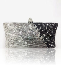 Crystal Couture Fusion MiX Crystal Clutch Bag