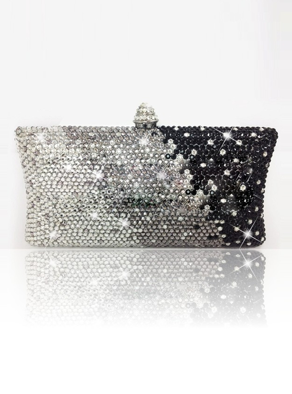 Crystal Couture Fusion Mix Clutch Bag
