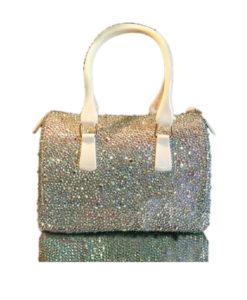 Crystal Couture Handbag Small Crystals