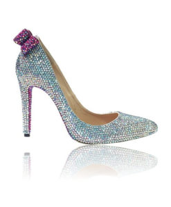 Crystal Couture Crystal Pointed Stilletos High Heels