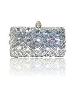 Crystal Couture Large Diamnte Clutch Bag
