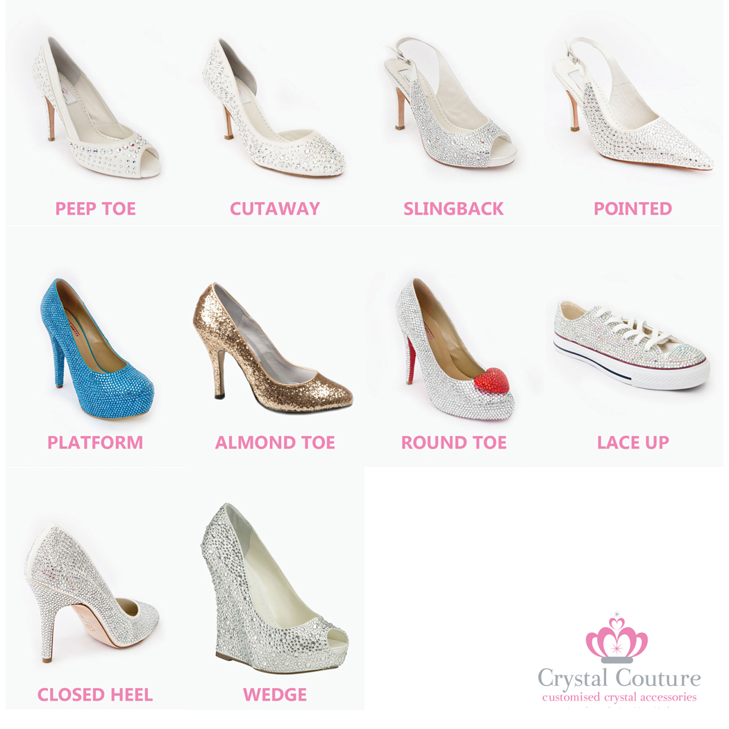 Crystal Couture Made to Order Crystal Shoes