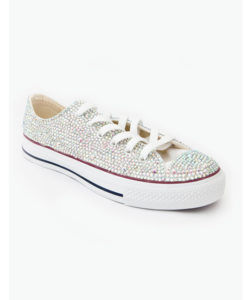 Crystal Couture Converse Crystal Low Tops Trainers 1