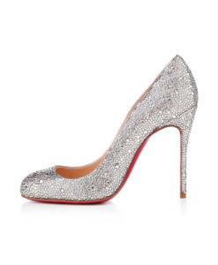 Crystal Couture Crystal Ladies Court Shoes 1