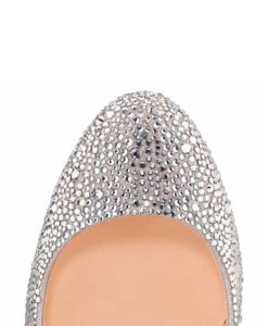 Crystal Couture Crystal Ladies Court Shoes 2