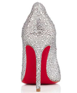 Crystal Couture Crystal Ladies Court Shoes 3