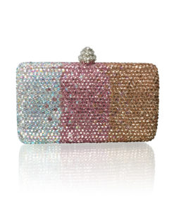 Crystal Couture Ladies Clutch Ombre 1