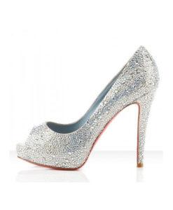 Crystal Couture Ladies Crystal Peep Toes 1