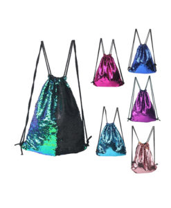 Crystal Couture Sequin Gym Sports Bag 1