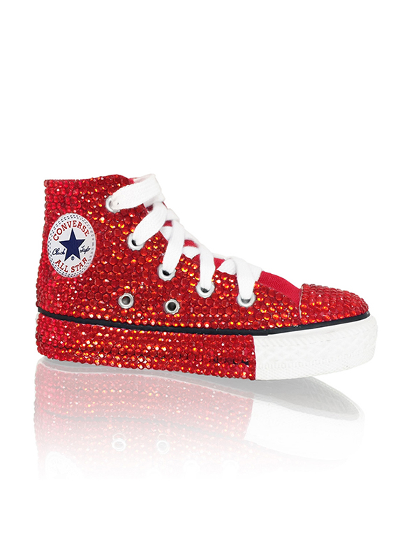 a855703be4daab The product is already in the wishlist! Browse Wishlist. Crystal Couture  Children Converse ...