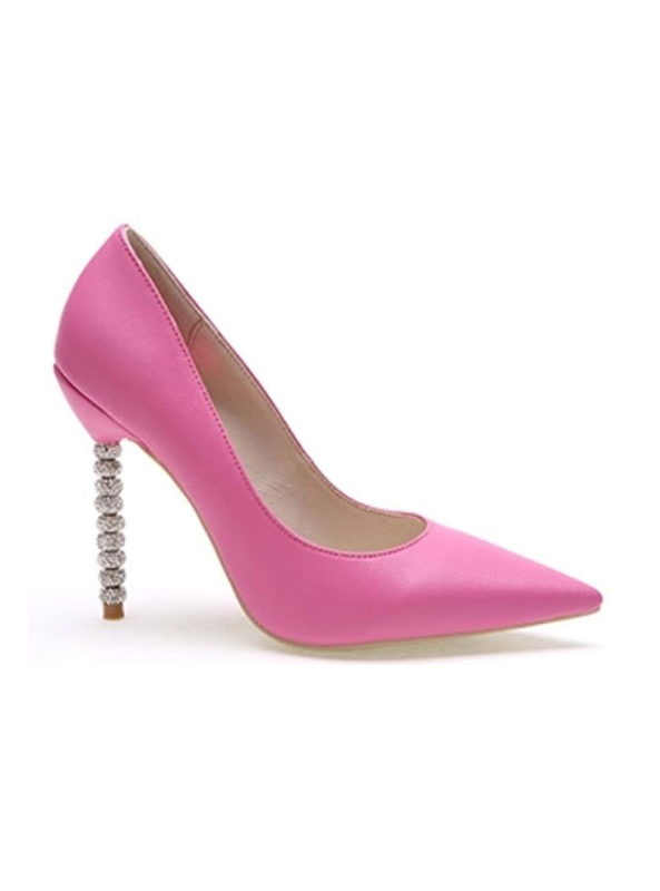 0c919d58281 The product is already in the wishlist! Browse Wishlist. Crystal Couture  Leather Pointed Pastel Wedding Shoes ...