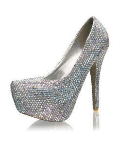 Crystal Couture 6 Inch Ladies High Heels Shoes 1