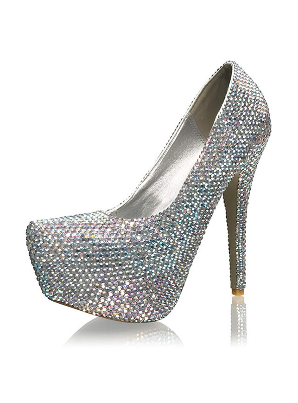 33f206494 Crystal Couture 6 inch Ladies High Heels Shoes - Crystal Couture