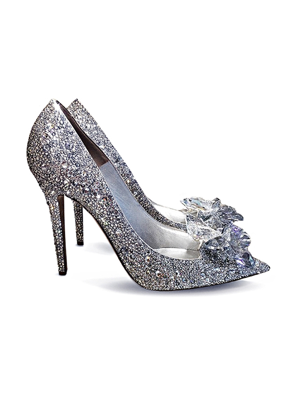 025da93aef76 Crystal Couture Cinderella Shoes - Crystal Couture