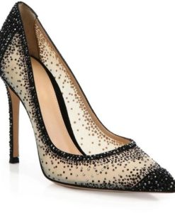 Crystal-Couture-Ladies-Pointed-Mesh-Shoe