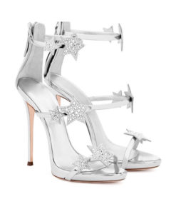 Crystal Couture Silver Star Shoes-1