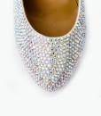 Crystal Couture Crystal Platform Court Shoe High Heels