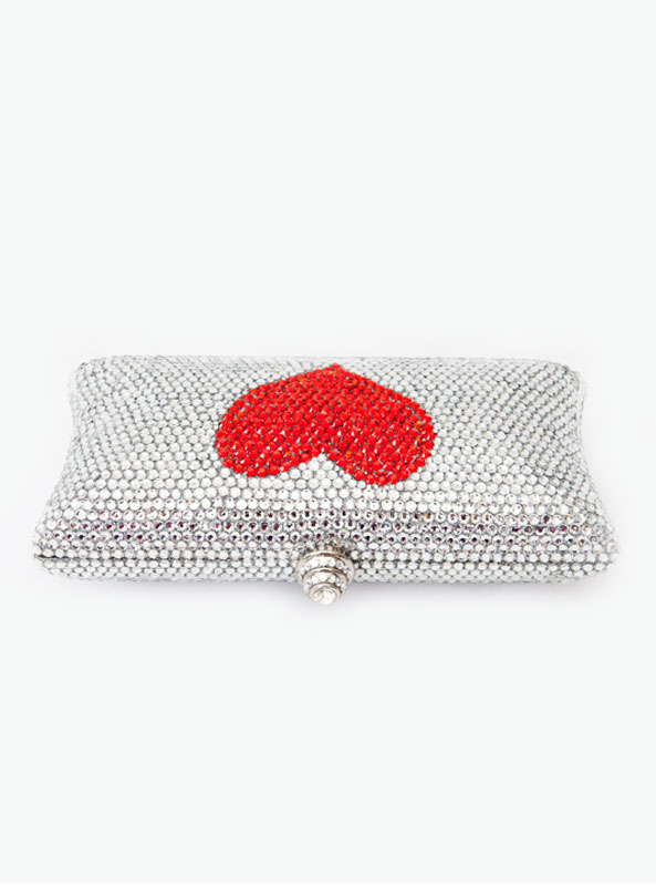 Red Clutch Bag. Choose Endeca Filter's. FILTER BY: CLEAR ALL FILTERS; Designer. Judith Leiber Couture Coral Crystal Rectangle Clutch Bag, Red/Multi Details Judith Leiber Couture evening clutch bag with coral motif. More Details Nancy Gonzalez Small Heart Carrie Clutch Bag Details Nancy Gonzalez