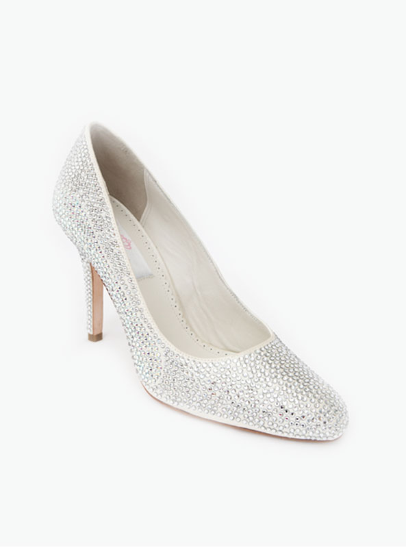 048f41470 Crystal Slipper Heels - Crystal Couture