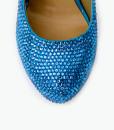 Crystal Couture Something Blue Crystal Platform Heels